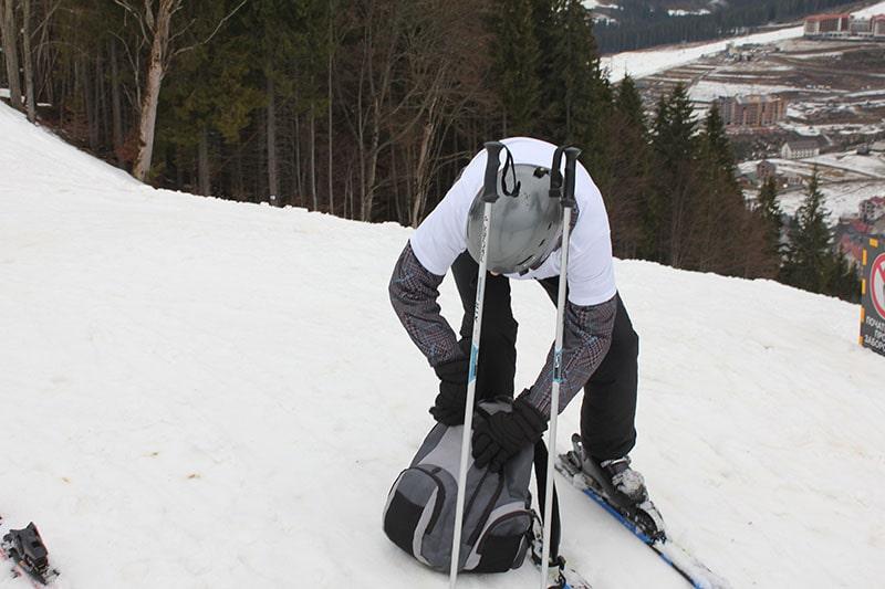 На лыжах, Буковель