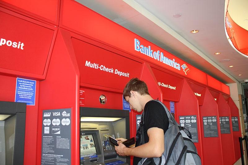 Банкомат Bank of America