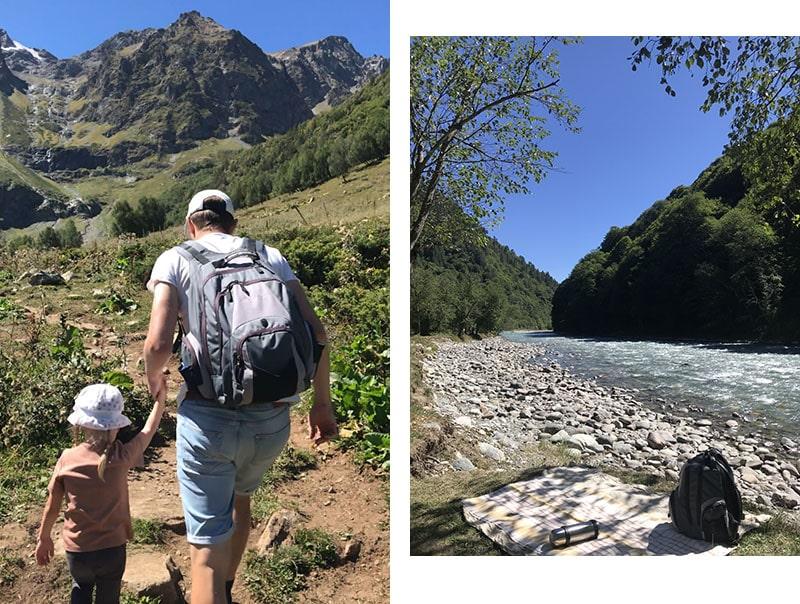 По пути к Софийским озерам, горная река