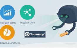 Топвизор — эффективный помощник в проверке позиций сайта и подбора ключевых слов