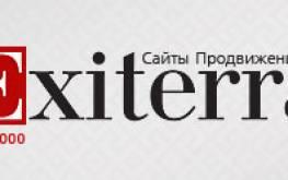 Продвижение и оптимизация сайтов компанией Exiterra