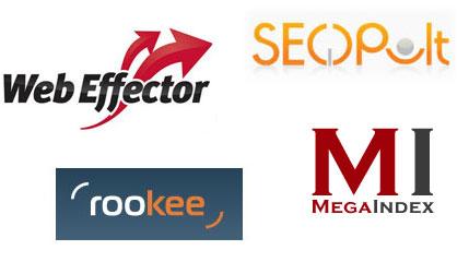 Сравнительный анализ: seopult, rookee, webeffector и megaindex.