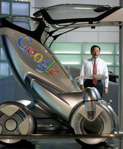 автомобиль будущего от Google