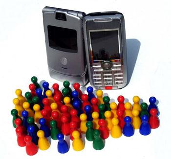 аудитория мобильных телефонов