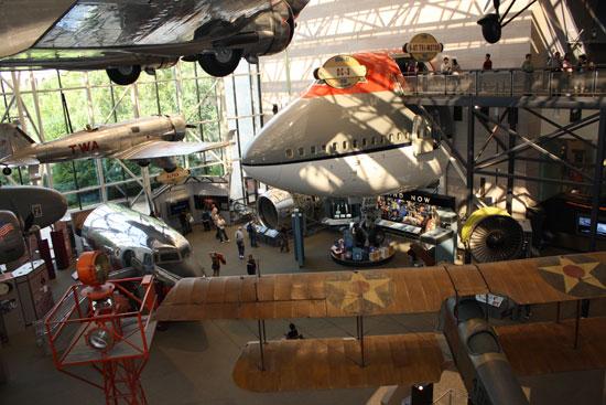 самолеты в музее