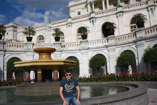 фонтан возле капитолия