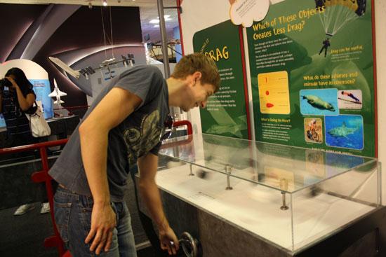 эксперимент в американском музее