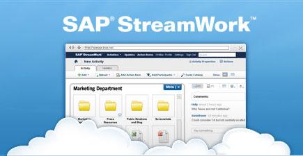 приложение SAP StreamWork