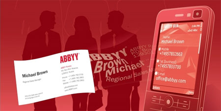 ABBYY Business Card Reader для Android