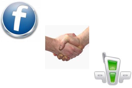 интеграция facebook в qip