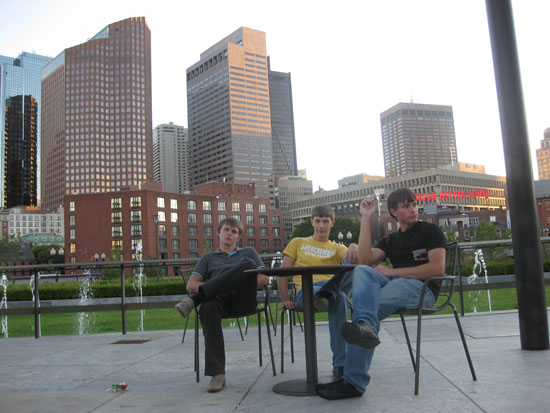 за чертой центра города (Бостон)