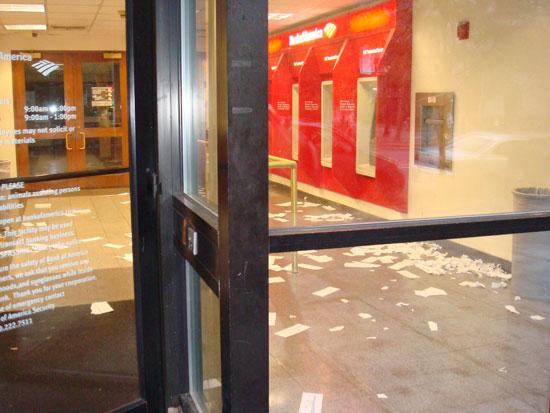 беспорядок в Bank of America