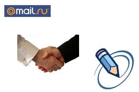 интеграция Mail.Ru с LiveJournal
