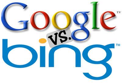 Google против Bing