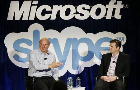 microsoft купил skype