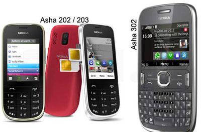 телефоны nokia серии asha