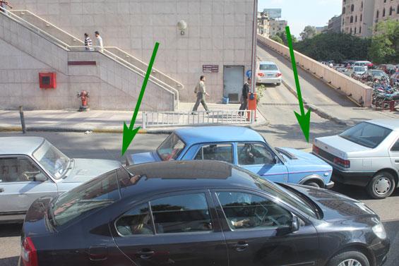 особенности каирской парковки