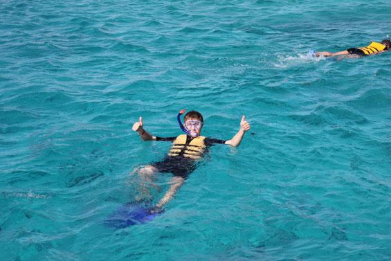купание в красном море