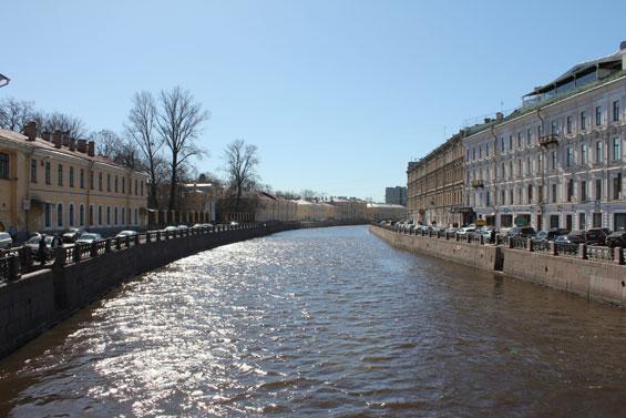 канал в Питере