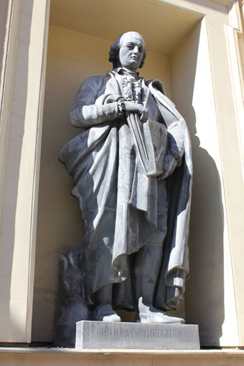 Статуя Raphael Morghen