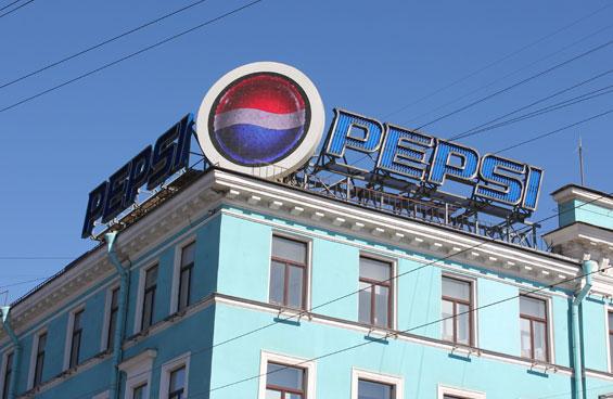 Видео-реклама Pepsi в Санкт-Петербурге