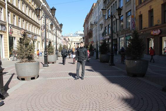 улочка города Петра