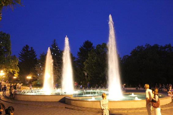 поющий фонтан в Пятигорске