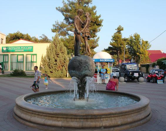 фонтан влюбленных