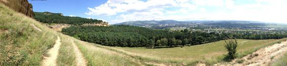 панорама с горы-кольцо
