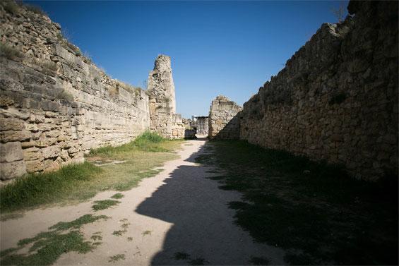 Городские стены Херсонеса