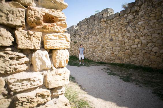 Херсонес Таврический - стены