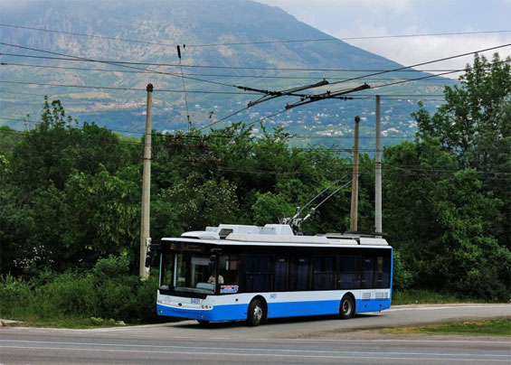 Троллейбус Симферополь-Ялта