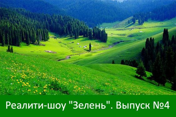 """реалити-шоу """"Зелень"""". Четвертый выпуск."""