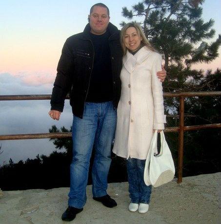 Максим Пастухов с женой