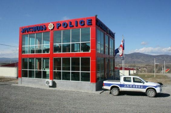 грузинский полицейский участок