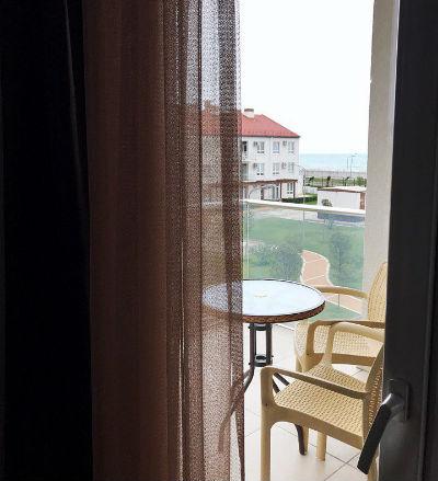 море с балкона