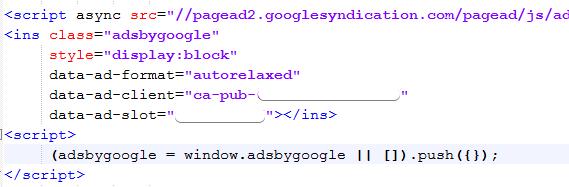 стандартный код